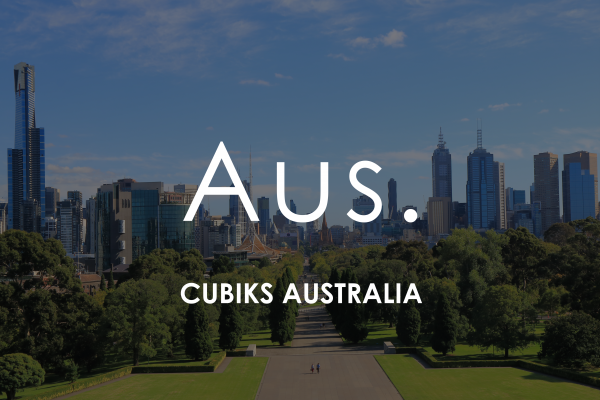Cityscape background of park in Melbourne for Cubiks agent in Australia