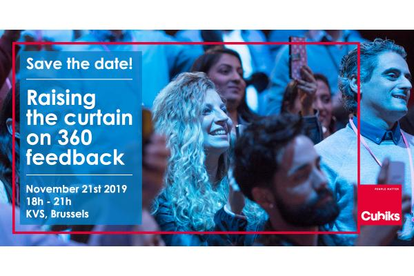 Save the date – Raising the curtain on 360 feedback – Nov 21st 2019